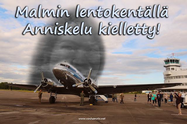 Malmin lentokenttä ja Anni Sinnemäki