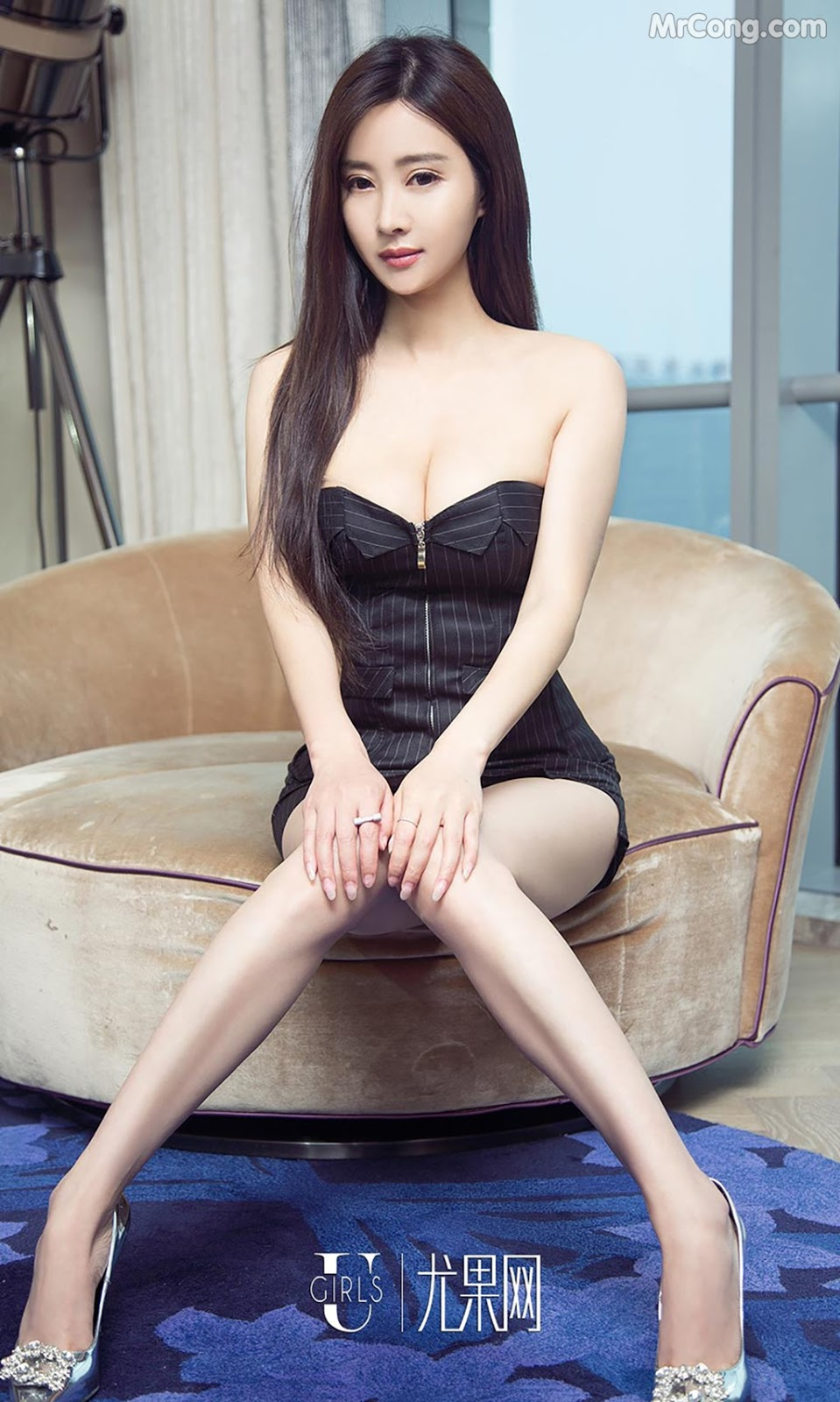 Image UGIRLS-Ai-You-Wu-App-No.790-MrCong.com-005 in post UGIRLS – Ai You Wu App No.790: Người mẫu Han Yu Chan (韩雨婵) (40 ảnh)