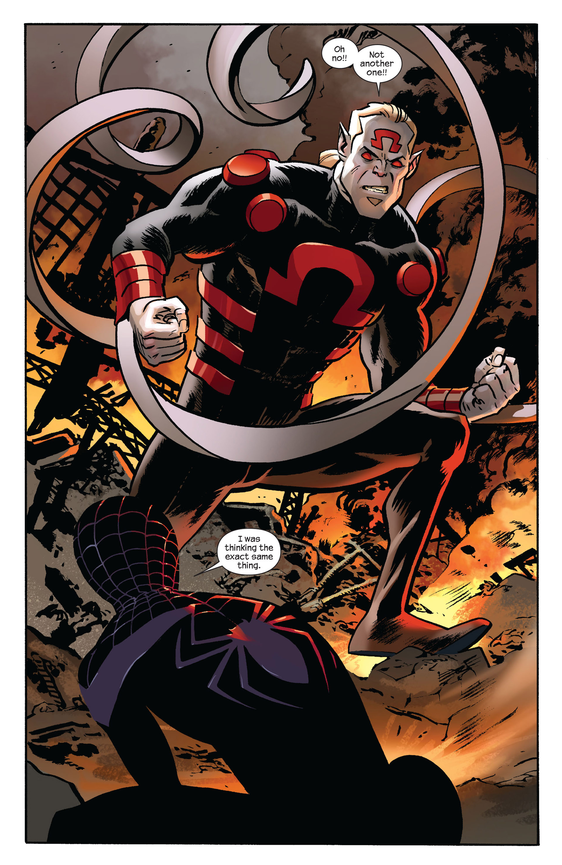 Read online Ultimate Comics Spider-Man (2011) comic -  Issue #7 - 12