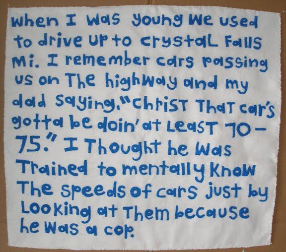 A childhood memory essay