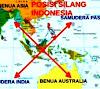 Letak dan Luas Indonesia Secara Astronomis, Geografis dan Geologis