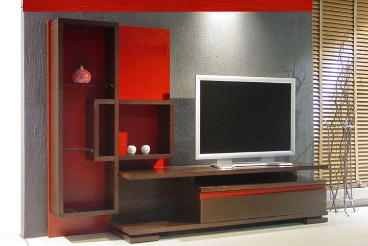 Modern cool lcd tv unit designs for Modern tv unit design ideas
