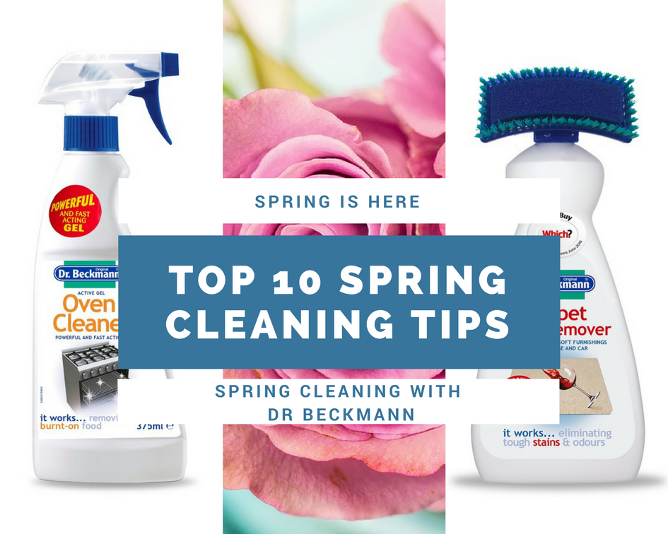 My Top 10 Spring Cleaning Tips And Dr Beckmann Product Review