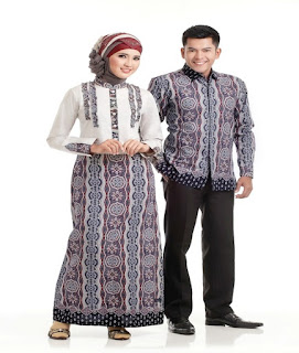 model baju batik remaja couple lengan panjang