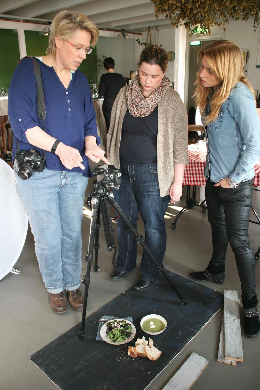 Workshop foodfotografie & styling set up