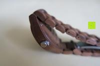 Krone: Holz Armbanduhr 360° Nut