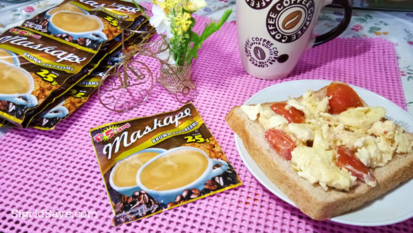 Maskape 3in1 Brown Coffee