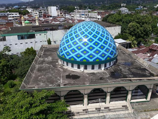 Tempat Pesan Kubah Masjid di Lampung