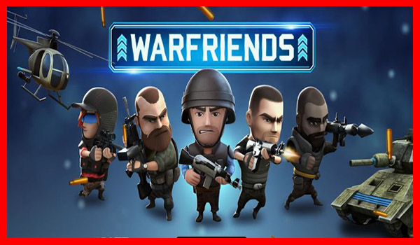 سارع بتحميل لعبة WarFriends لعبة اكشن وحرب اونلاين