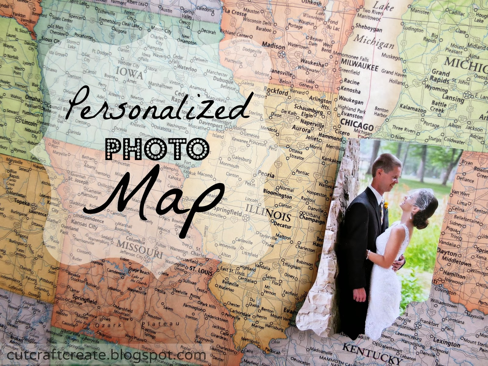 Personalized Us Map.Cut Craft Create Personalized Photo Map
