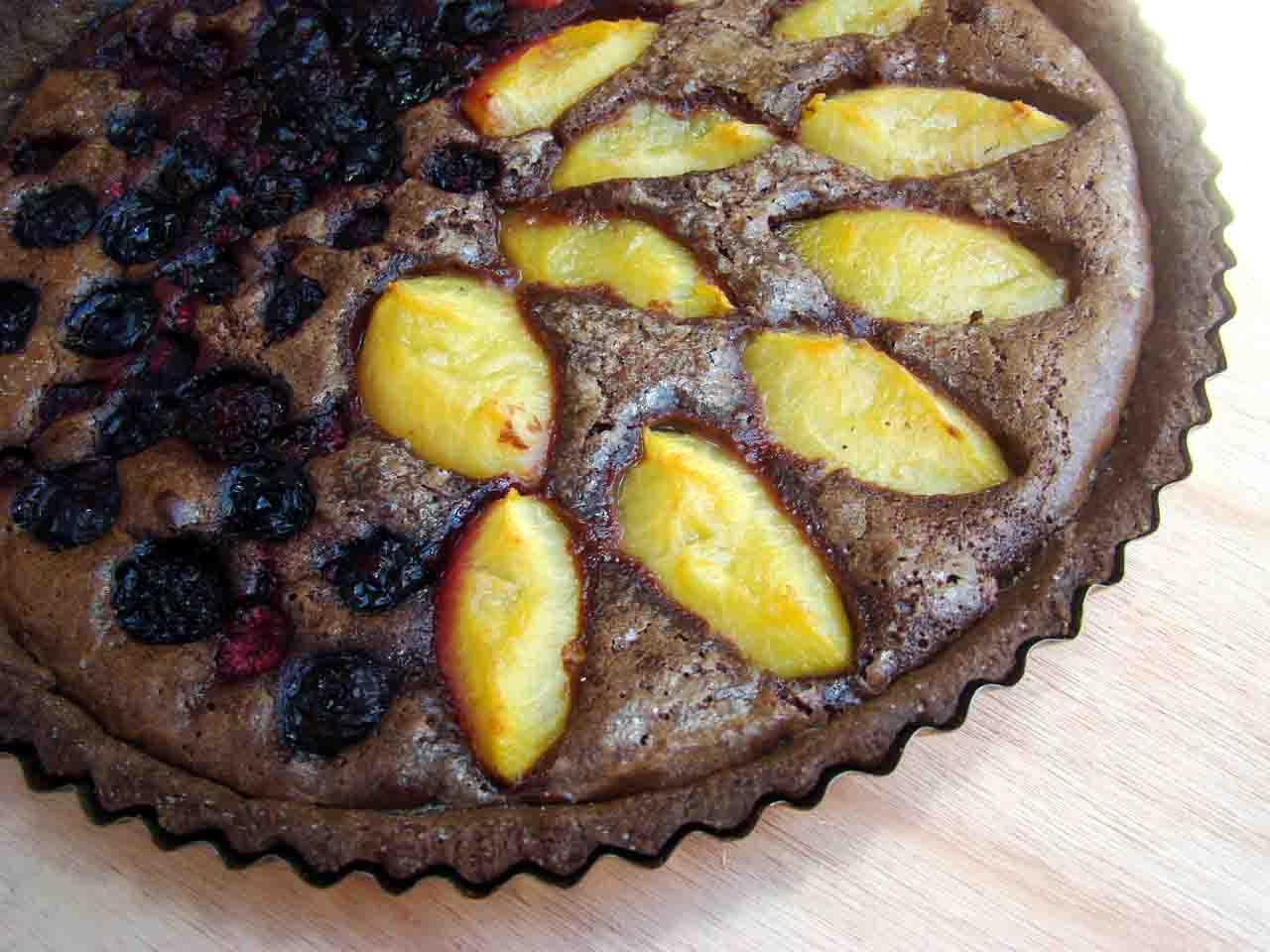 Chocolate Cremoso y Frutas
