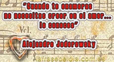 mensajes de amor de  Alejandro Jodorowsky