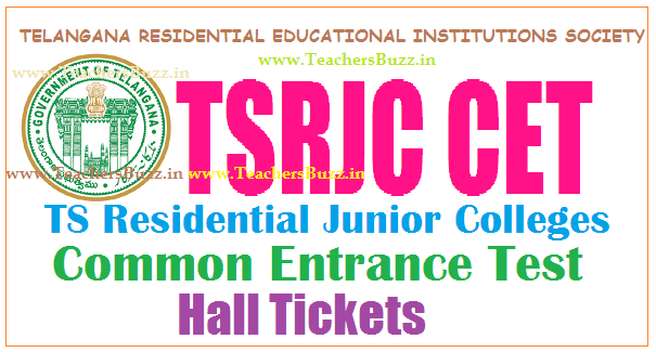 TSRJC HALL TICKETS