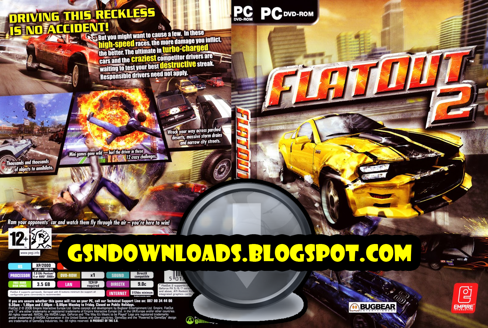 flatout 2 download free full version pc