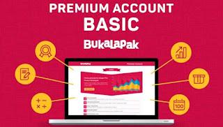 Tersedia tiga premium account. Basic, profesional, platinum