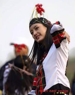Traditional Attire of The Mizo