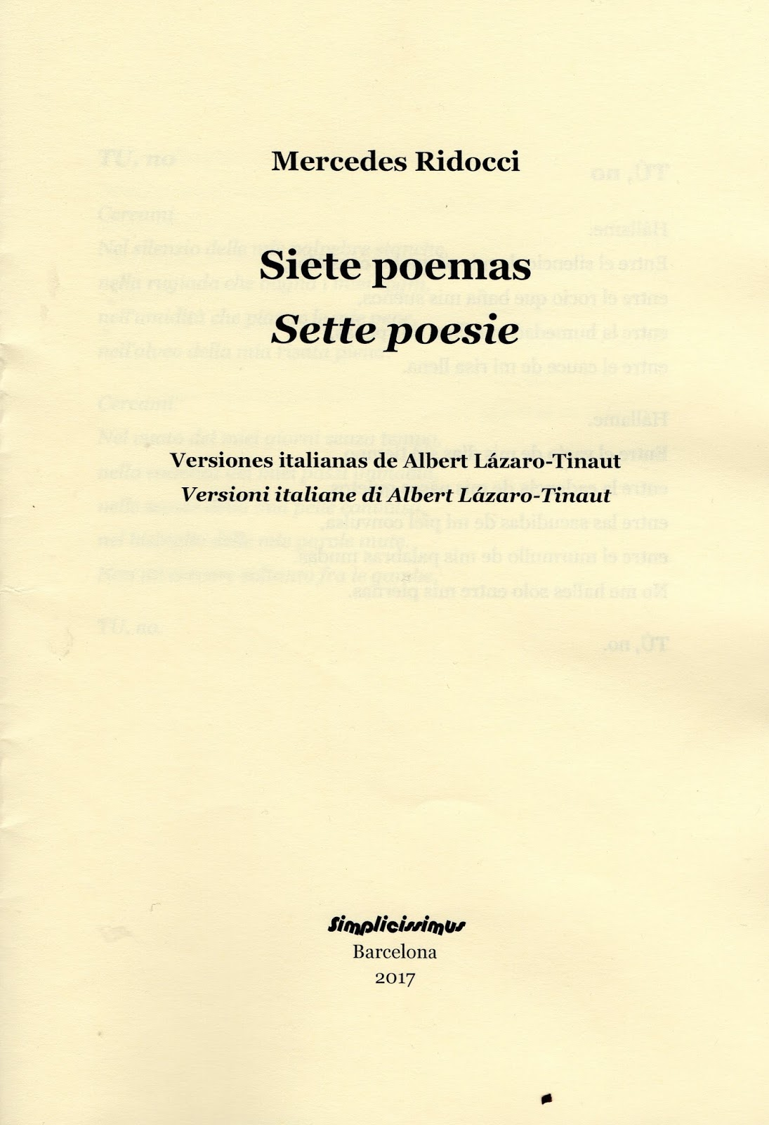 poesia tradução crítica