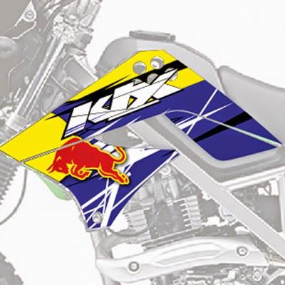 KLX Redbull Yellow