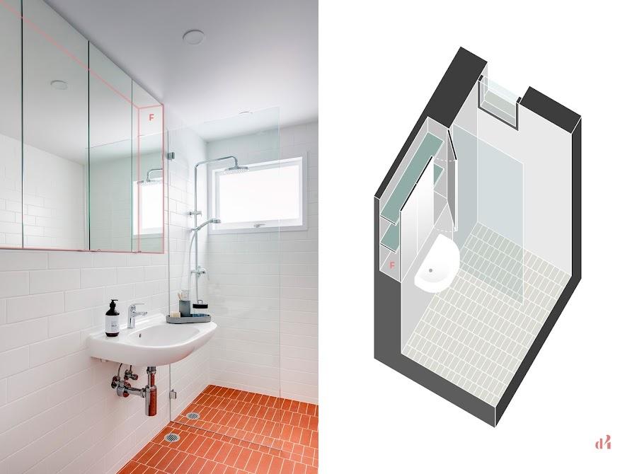 detalles mueble espejo integrado camuflado