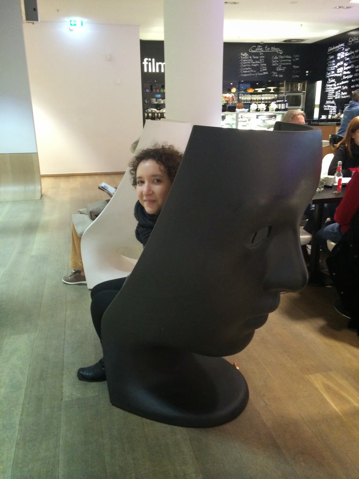 face shaped chair