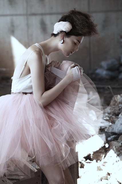 ballet+pink+tulle
