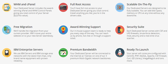 dedicated server, features, extra benefits, hostupon
