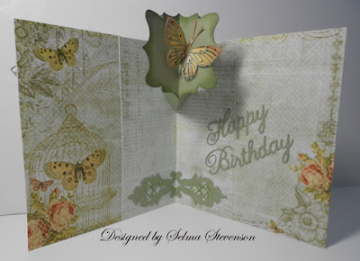 Selma S Stamping Corner And Floral Designs Happy Birthday
