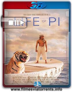 As Aventuras de Pi Torrent - BluRay Rip 1080p 3D HSBS Legendado (2012)