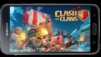 Jika sobat ketika ini sedang memainkan game COC ini berarti sobat sedang memainkan salah sa Download Game Clash Of Clans / COC Offline Apk Terbaru 2018