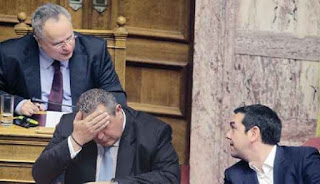 Βέρτιγκο στην κυβέρνηση λόγω Ρωσίας και Σκοπίων