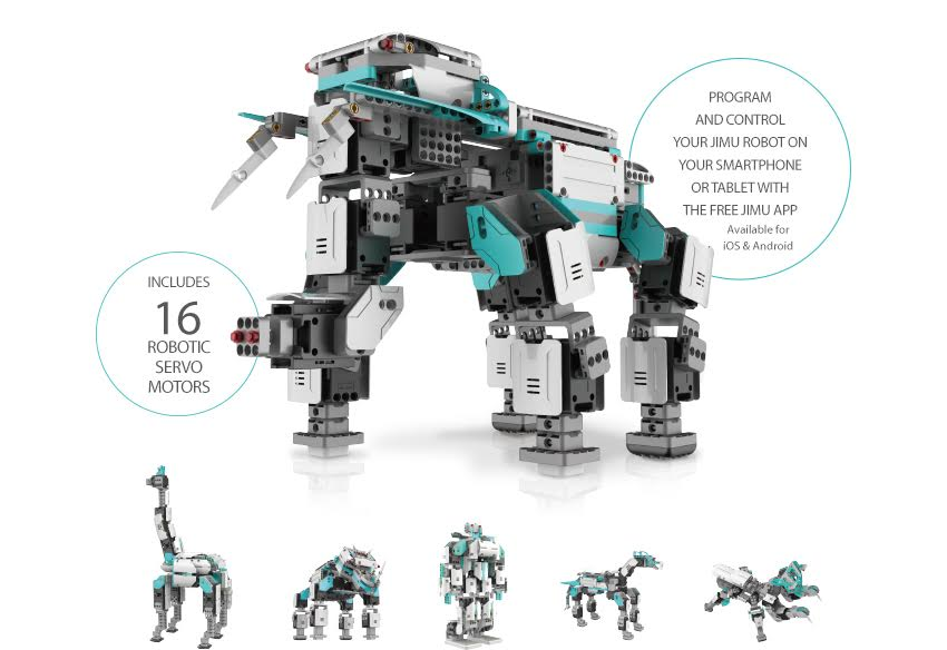 UBTECH Robotics Introduces STEM-Friendly Jimu Robots for