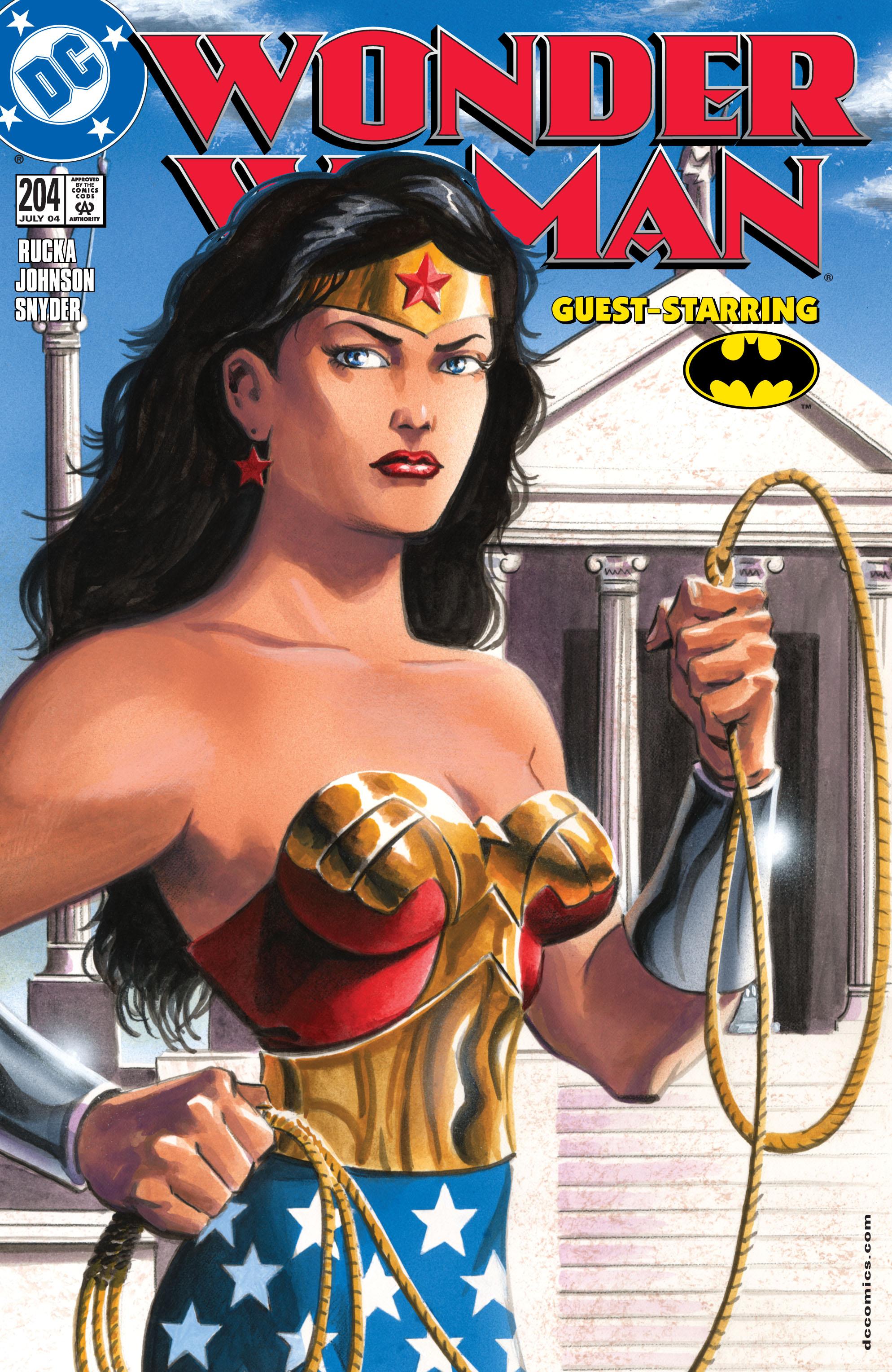 Read online Wonder Woman (1987) comic -  Issue #204 - 1
