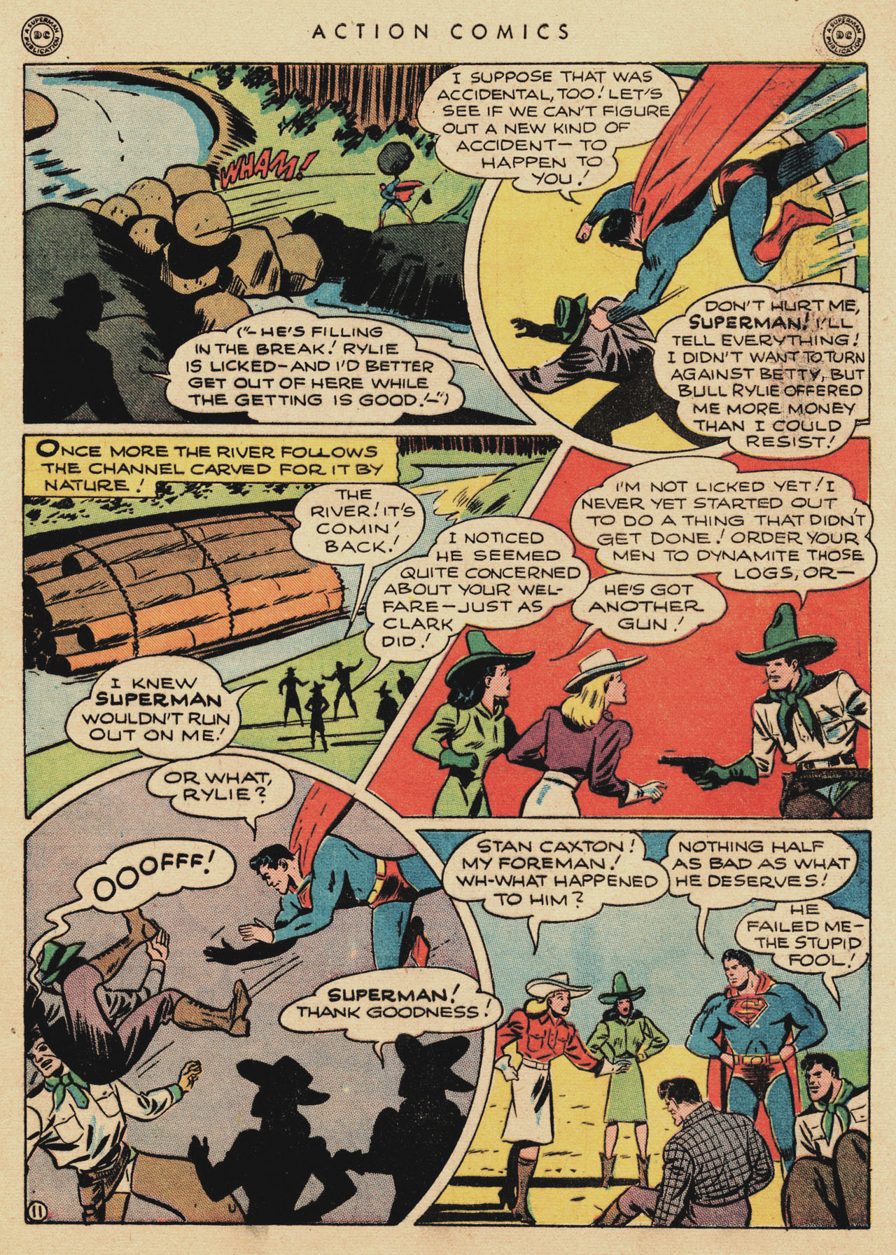 Read online Action Comics (1938) comic -  Issue #94 - 13