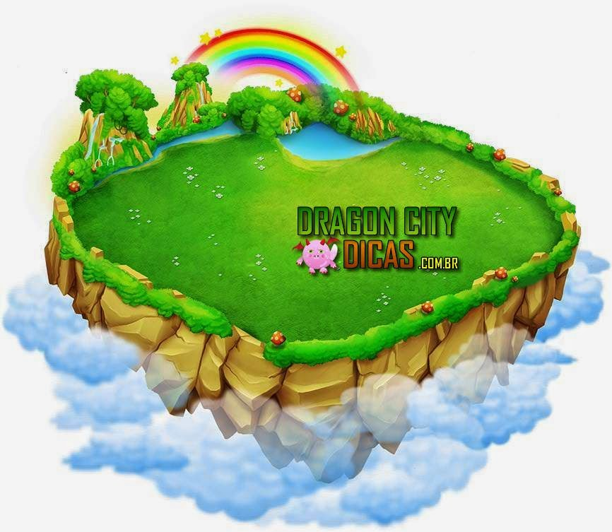 Novas Ilhas - Dragon City