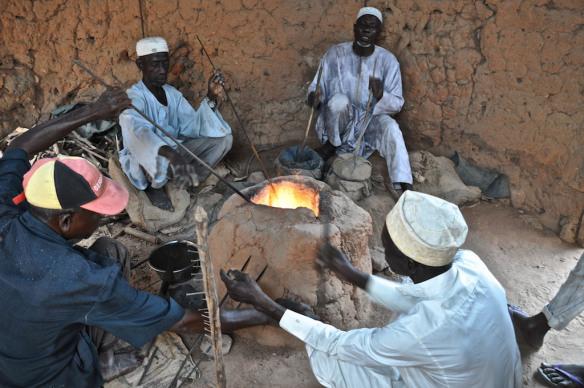 Nupe people, The Bida Glass Beads Making