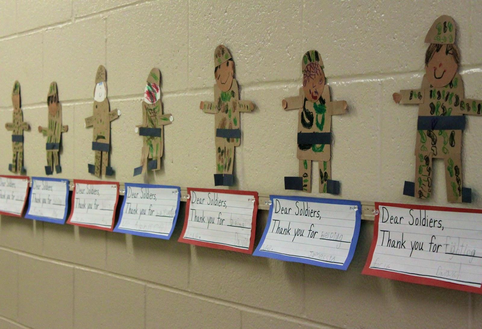 Kindergarten Hopefuls Veteran S Day