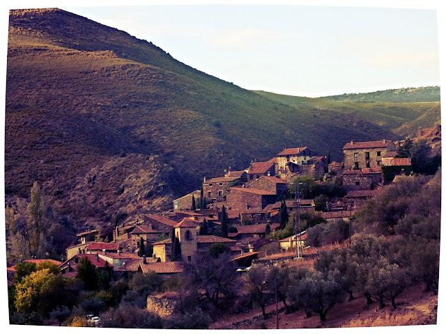 Patones de Arriba en la sierra de Madrid