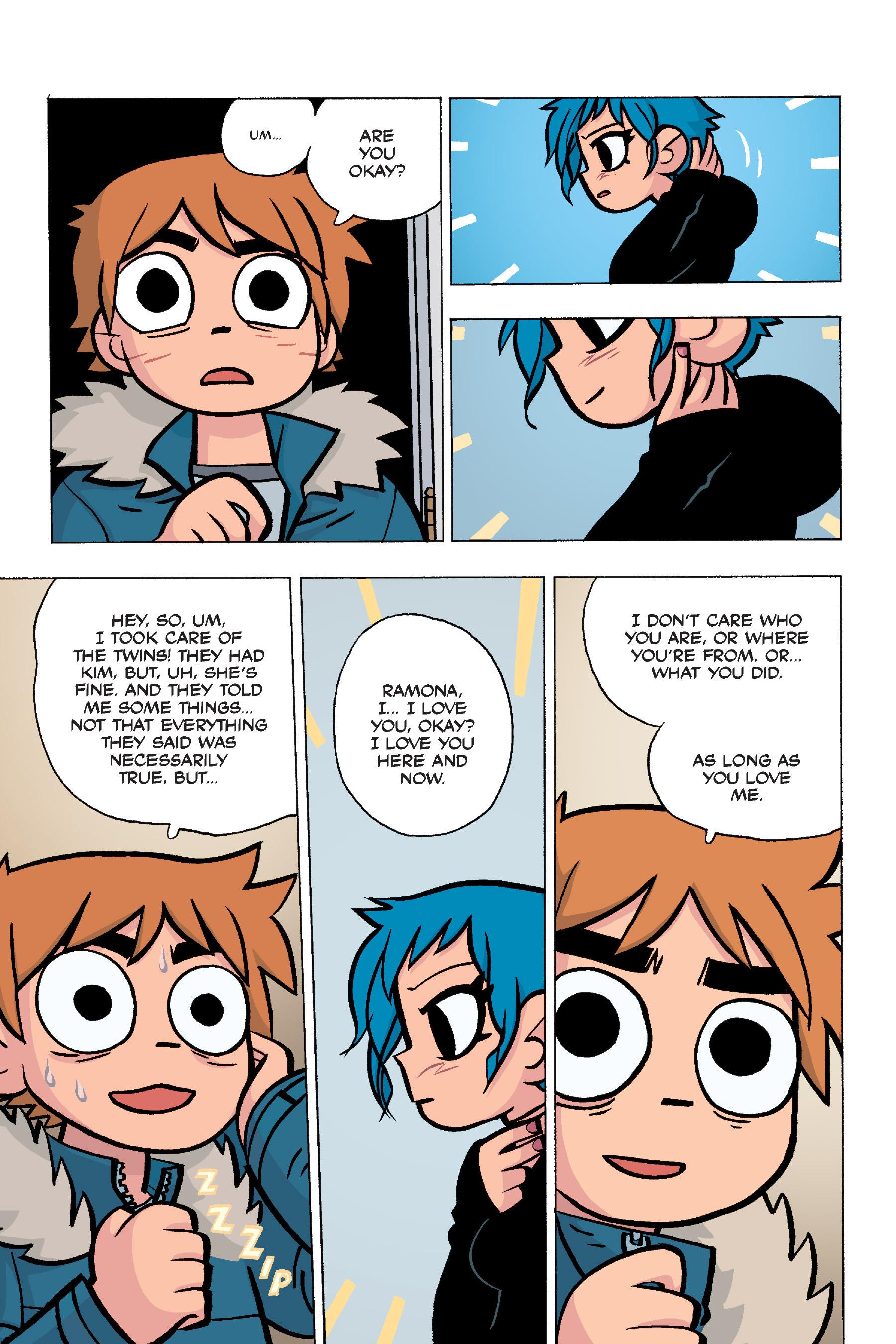 Read online Scott Pilgrim comic -  Issue #5 - 137