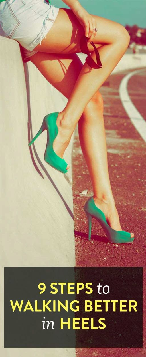 9 tips for walking better in heels