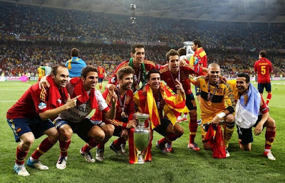 Spain Euro 2012 Victory