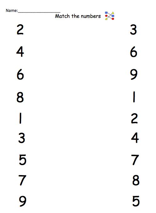 Pre School Worksheets : number names to 10 worksheets Number Names ...