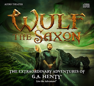 Cover of the Audio Drama Wulf the Saxon