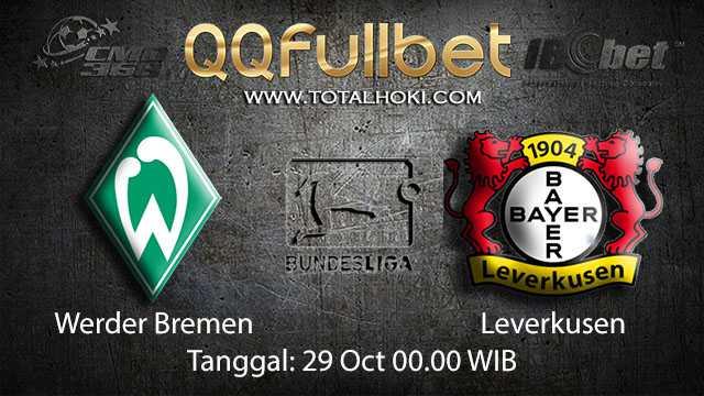 Prediksi Bola Jitu Werder Bremen vs Leverkusen 29 Oktober 2018 ( German Bundesliga )