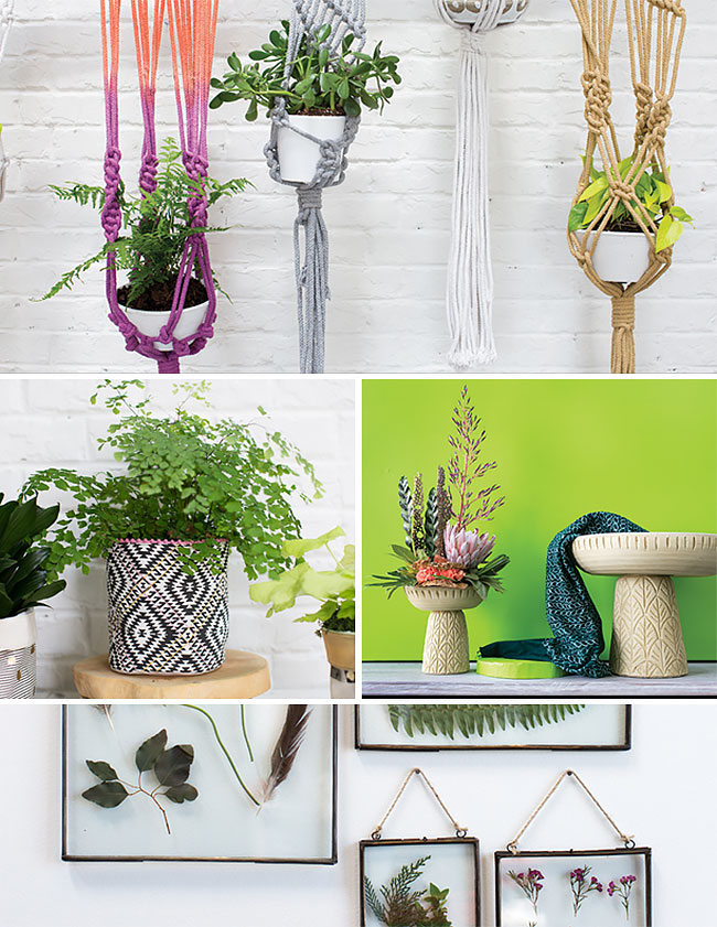 Modern African inspired home decor and planters by Accent Decor