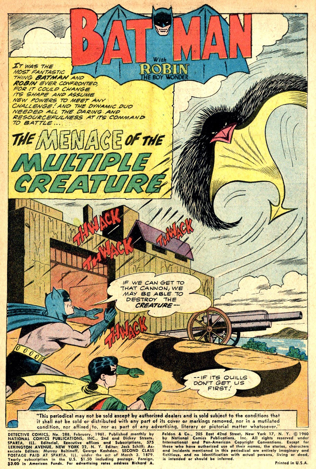 Detective Comics (1937) 288 Page 2