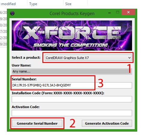 corel draw x7 serial number 64 bit