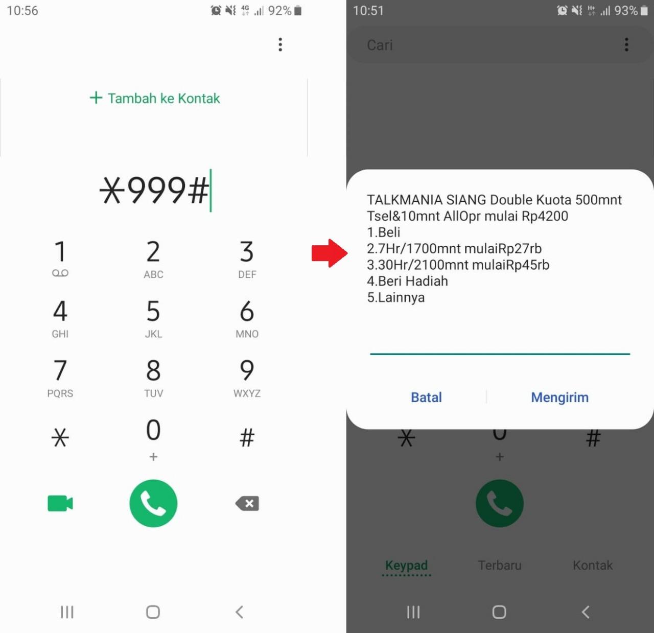 Cara Beli Paket Nelpon Telkomsel Termurah 200 Menit Rp 1000 Paket Internet