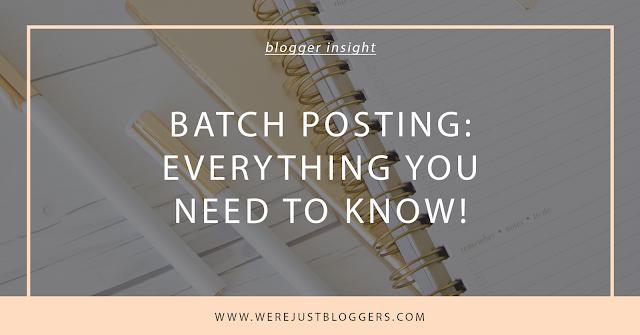 batch posting