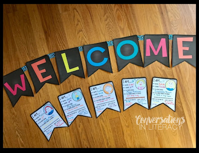 Welcome Banner for Parent Teacher Conferences
