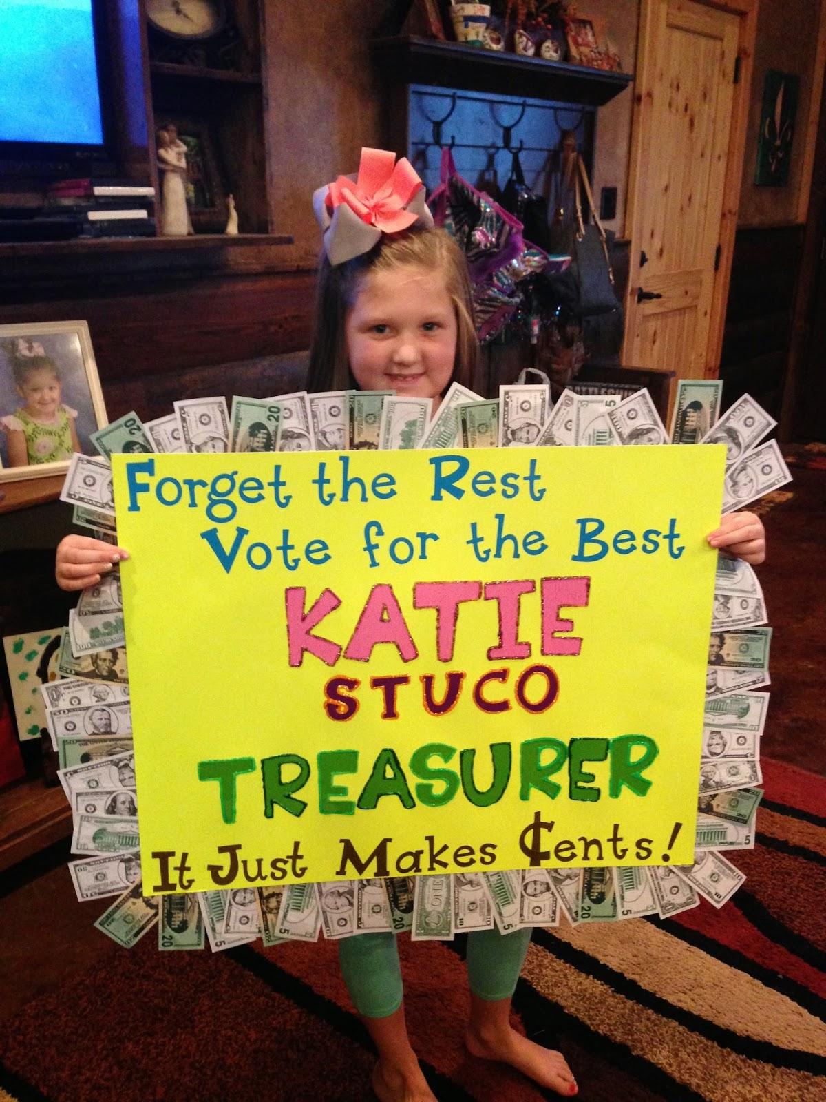 Ideas For Student Council Treasurer Campaign